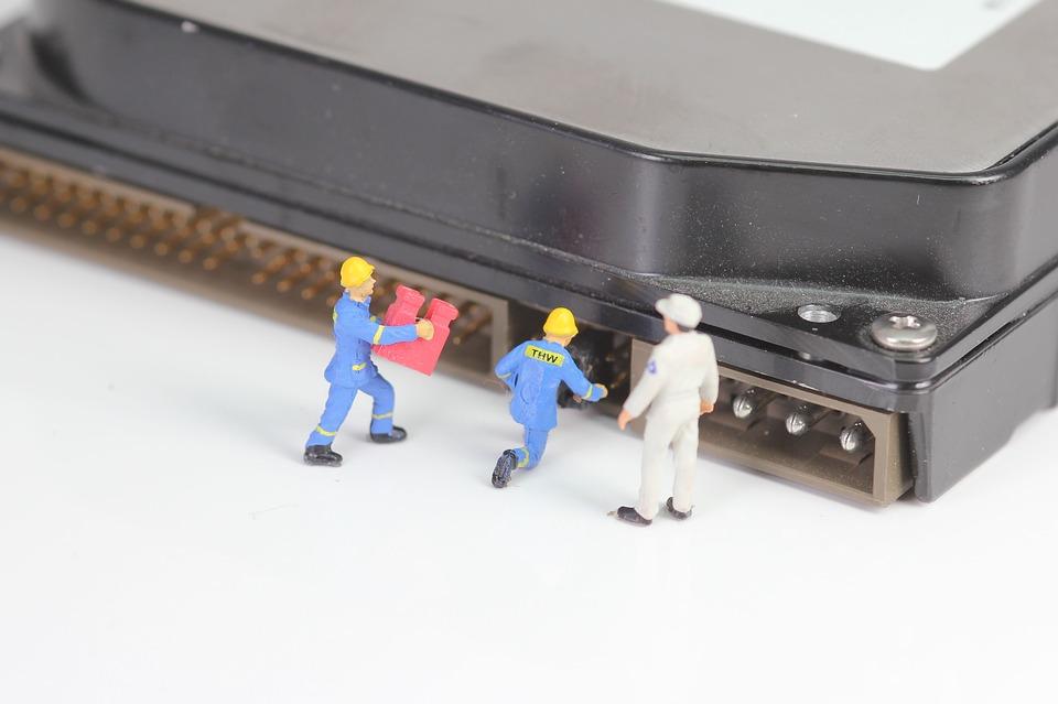 wipe a computer hard drive