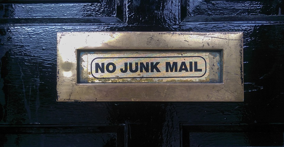 get rid of spam emails