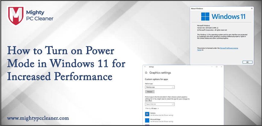 How to Turn on Power Mode in Windows 11 for Increased Performance
